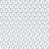 Άσπρο υπόβαθρο σχεδίων τριγώνων άνευ ραφής Στοκ Φωτογραφίες