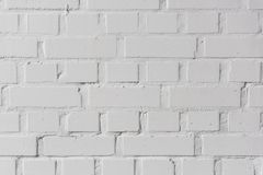 Άσπρο υπόβαθρο σύστασης τοίχων τούβλων στοκ φωτογραφία με δικαίωμα ελεύθερης χρήσης