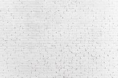 Άσπρο υπόβαθρο σύστασης τουβλότοιχος Επιφάνεια πλινθοδομής στοκ εικόνες με δικαίωμα ελεύθερης χρήσης