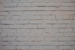 Άσπρο υπόβαθρο σύστασης τούβλων χρωμάτων στοκ φωτογραφία με δικαίωμα ελεύθερης χρήσης