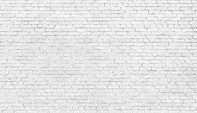 Άσπρο υπόβαθρο τουβλότοιχος, σύσταση της λευκαμένης τεκτονικής στοκ φωτογραφίες με δικαίωμα ελεύθερης χρήσης