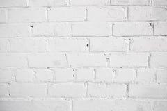 Άσπρο υπόβαθρο τούβλου Στοκ φωτογραφία με δικαίωμα ελεύθερης χρήσης