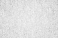 Άσπρο υπόβαθρο υφάσματος σύστασης Στοκ φωτογραφία με δικαίωμα ελεύθερης χρήσης