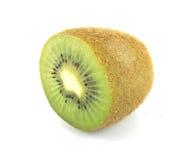 Άσπρο υπόβαθρο Kiwifruit Στοκ Φωτογραφίες