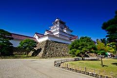 Άσπρο φθινόπωρο κάστρων στην Ιαπωνία στοκ εικόνες με δικαίωμα ελεύθερης χρήσης
