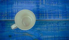 Άσπρο φλυτζάνι Στοκ Φωτογραφίες