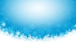 Άσπρο χιόνι Χριστουγέννων Στοκ Εικόνες