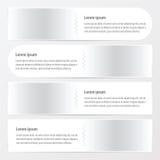Άσπρο χρώμα εμβλημάτων Zigzax Στοκ Εικόνα