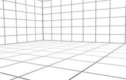 Άσπρο δωμάτιο Στοκ φωτογραφίες με δικαίωμα ελεύθερης χρήσης