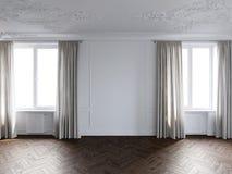 Άσπρο δωμάτιο Στοκ Εικόνα