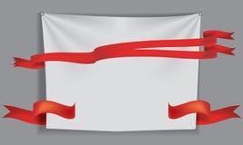 Άσπρο ύφασμα κουρτινών για τα υπόβαθρα, απεικόνιση πλέγματος Στοκ Φωτογραφίες
