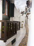Άσπρο arquitecture Menorca Ισπανία Στοκ εικόνα με δικαίωμα ελεύθερης χρήσης