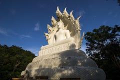 Άσπρο Bhuddha Στοκ εικόνες με δικαίωμα ελεύθερης χρήσης