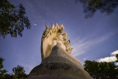 Άσπρο Bhuddha Στοκ φωτογραφία με δικαίωμα ελεύθερης χρήσης