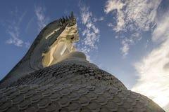 Άσπρο Bhuddha Στοκ φωτογραφίες με δικαίωμα ελεύθερης χρήσης