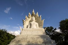 Άσπρο Bhuddha Στοκ Εικόνες