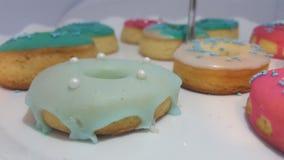 Άσπρο doughnut Στοκ εικόνες με δικαίωμα ελεύθερης χρήσης