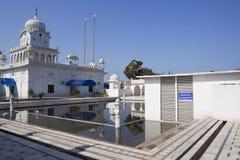 Άσπρο gurdwara Στοκ Εικόνες
