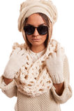 Άσπρο Knitwear Στοκ Εικόνα