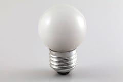 Άσπρο Lightbulb Στοκ φωτογραφίες με δικαίωμα ελεύθερης χρήσης