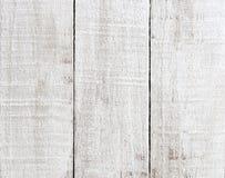 Άσπρο shabby χρωματισμένο ξύλινο υπόβαθρο Στοκ Εικόνα