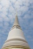 Άσπρο stupa Στοκ Εικόνα