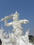 """The άσπρο Temple† σε Chiang Ria, Ταϊλάνδη Στοκ εικόνες με δικαίωμα ελεύθερης χρήσης"