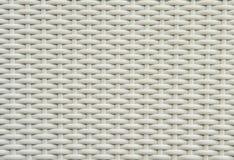 Άσπρο wickerwork Στοκ εικόνα με δικαίωμα ελεύθερης χρήσης