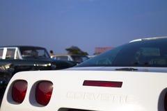 Άσπρο ZR- 1 δρομώνων Chevrolet Στοκ φωτογραφίες με δικαίωμα ελεύθερης χρήσης