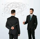 Άσπλαχνη επιχειρησιακή έννοια στοκ φωτογραφίες με δικαίωμα ελεύθερης χρήσης