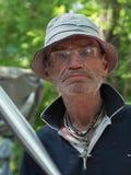 άστεγες λυπημένες οδοί της Πράγας εικόνων ατόμων Στοκ Εικόνες