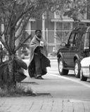 άστεγη γυναίκα Στοκ Εικόνες