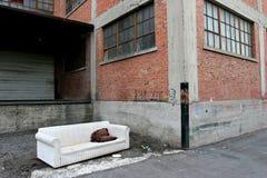 άστεγη διαβίωση Στοκ φωτογραφία με δικαίωμα ελεύθερης χρήσης