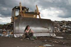 άστεγοι κοριτσιών Στοκ Φωτογραφίες