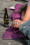 άστεγοι Στοκ εικόνες με δικαίωμα ελεύθερης χρήσης