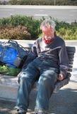 άστεγοι Στοκ Εικόνα