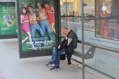 άστεγοι Στοκ Φωτογραφίες