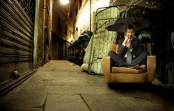 άστεγοι Στοκ φωτογραφία με δικαίωμα ελεύθερης χρήσης