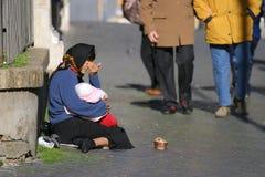 άστεγοι VII Στοκ Φωτογραφία
