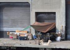 άστεγο καταφύγιο Στοκ Φωτογραφία