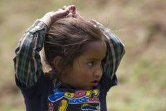Άστεγο κοριτσάκι στοκ εικόνες με δικαίωμα ελεύθερης χρήσης