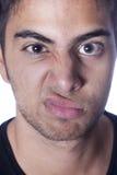 Άσχημο πρόσωπο στοκ φωτογραφίες