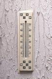 Άσχημο thermomete Στοκ εικόνα με δικαίωμα ελεύθερης χρήσης