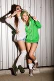 Άτακτα κορίτσια Στοκ Φωτογραφία