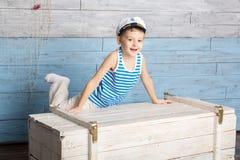 Άτακτο γέλιο μικρών παιδιών Στοκ εικόνα με δικαίωμα ελεύθερης χρήσης