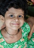 Άτακτο χαμόγελο κοριτσιών στοκ εικόνες με δικαίωμα ελεύθερης χρήσης