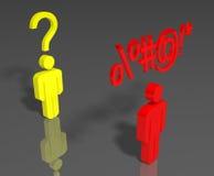άτομα δύο ελεύθερη απεικόνιση δικαιώματος