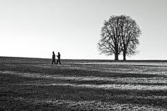 άτομα δύο Στοκ φωτογραφίες με δικαίωμα ελεύθερης χρήσης
