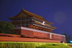 άτομα πυλών του Πεκίνου tian Στοκ εικόνες με δικαίωμα ελεύθερης χρήσης