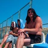άτομα τρία Στοκ εικόνα με δικαίωμα ελεύθερης χρήσης
